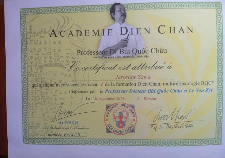 Dyplom - Dien Chan