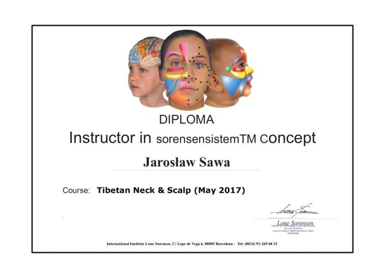 Instruktor dyplom - Tybet